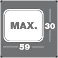 Max 30x59
